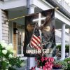 Eagle Liberty Statue One Nation Under God America Flag for House