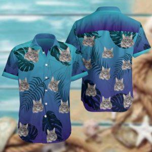 Siberian Cat Hawaiian Shirt