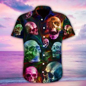 Skull Fantasy Hawaiian Shirt
