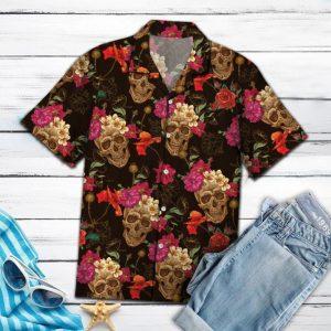 Sugar Skull Hawaiian Shirt