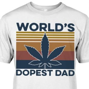 weed worlds dopest dad shirt hoodie sweater tank top