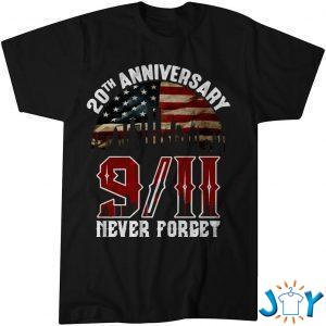 th anniversary  never forget shirt M