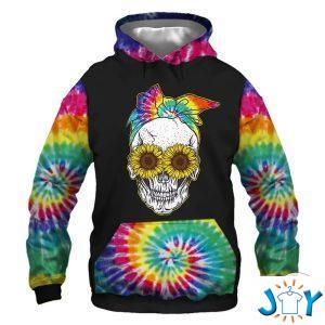 things about this woman a crazy mom hippie sunflower d hoodie