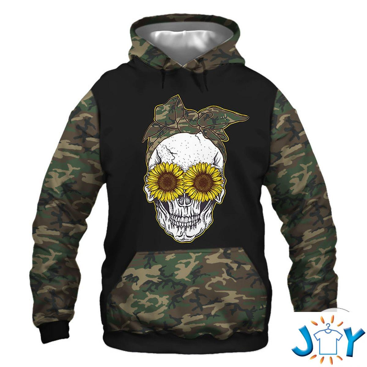 5 Things About This Woman -A Crazy Mom- Skull Camo 3D Hoodie