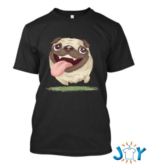 active pug t shirt