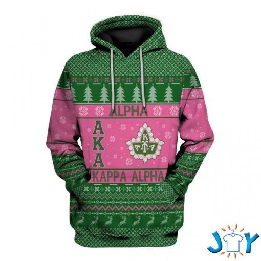 Aka Alpha Kappa Alpha Christmas 3D Hoodie