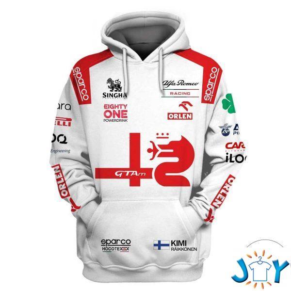 alfa romeo racing c f d hoodie