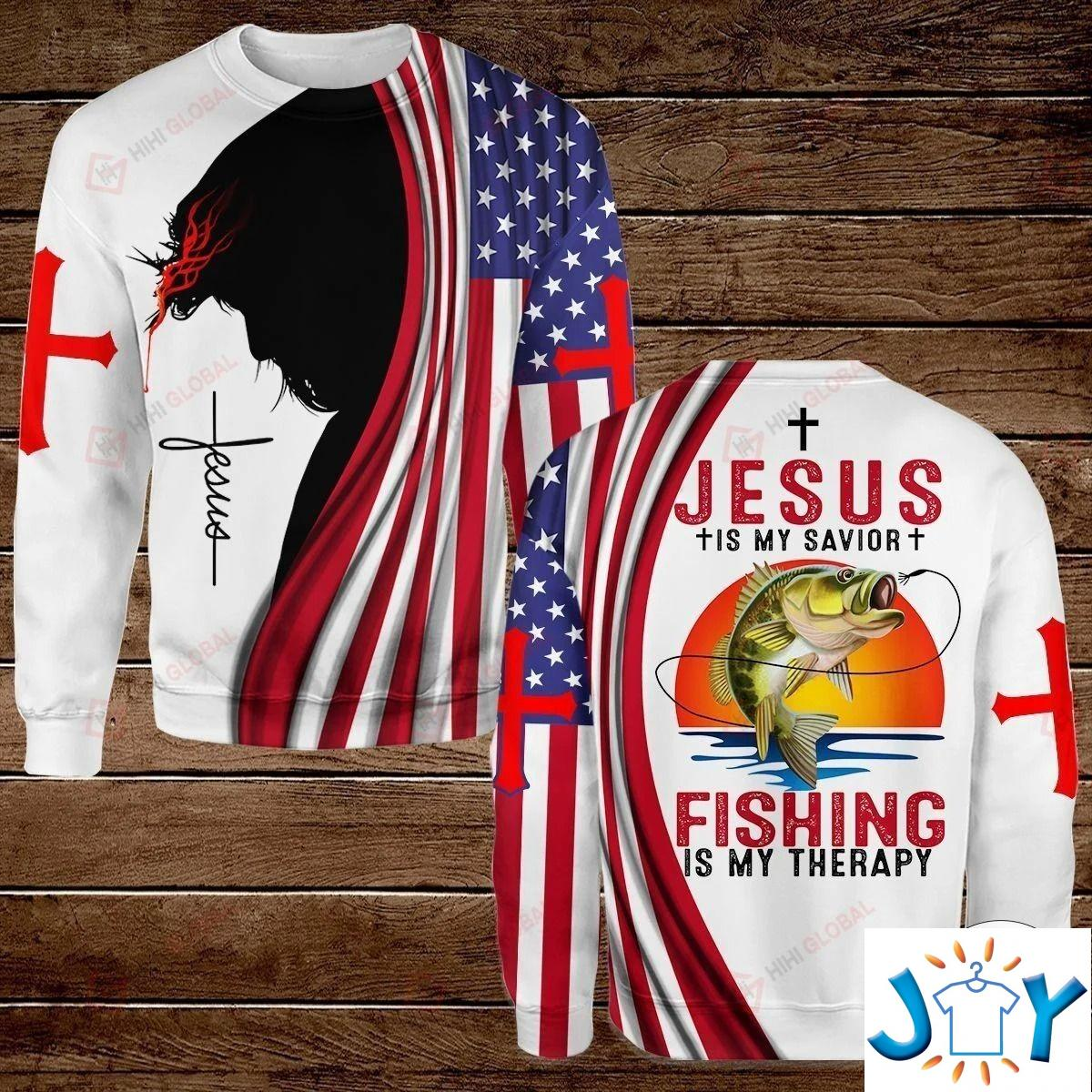 All I Need Today Is A Little Bit Of Fishing And A Whole Lot Of Jesus Hawaiian Shirt, Hoodies And Sweatshirt