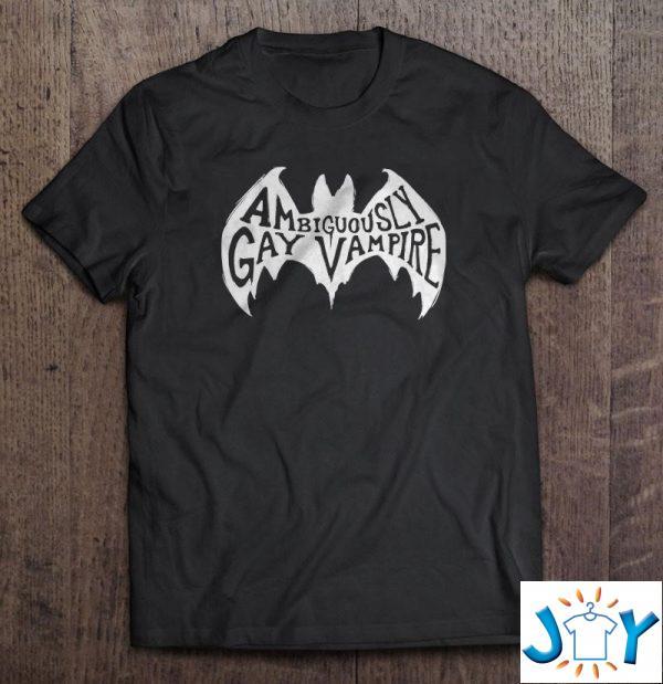 ambiguously gay vampire unisex t shirt M