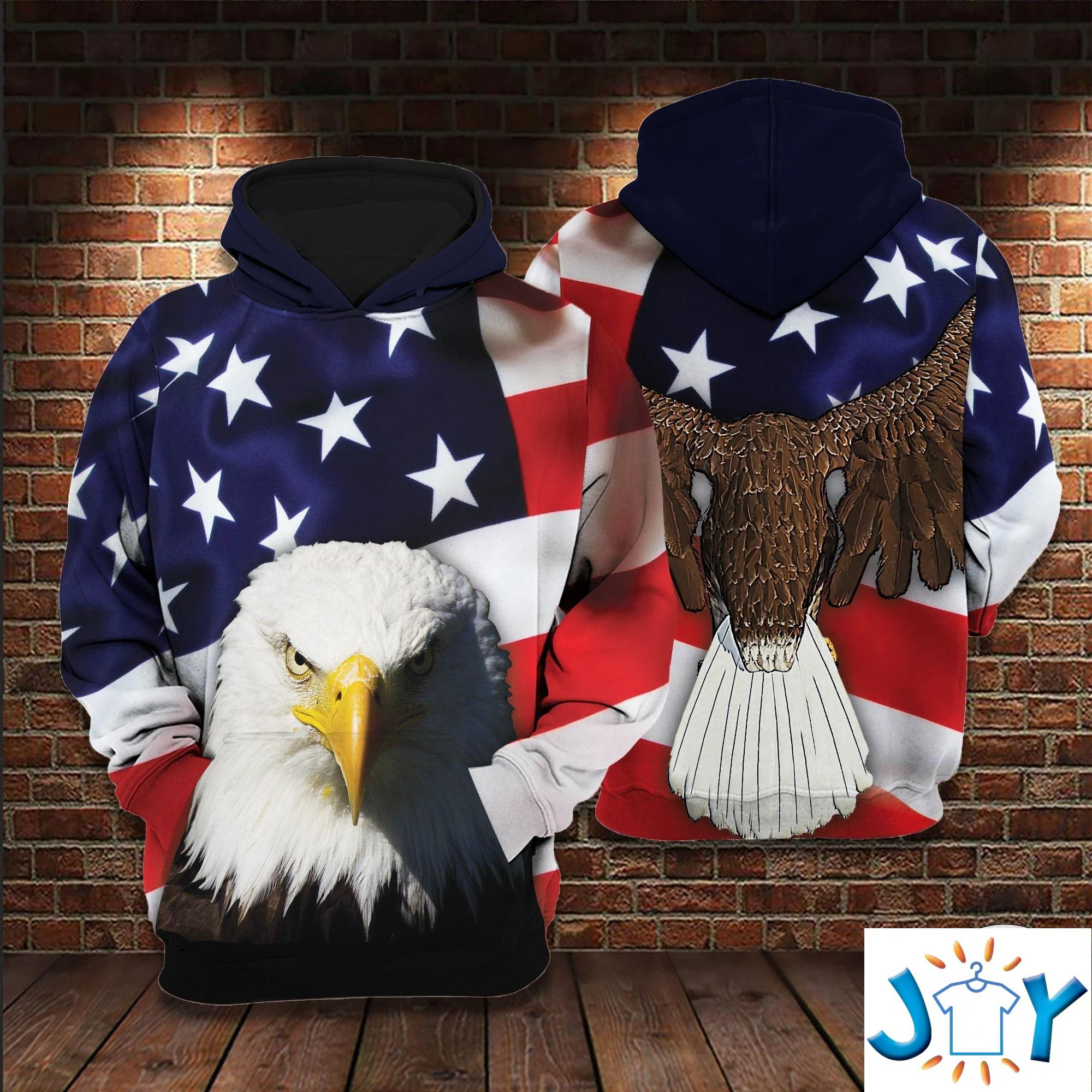 American Eagle 3D All Over Print Hoodie