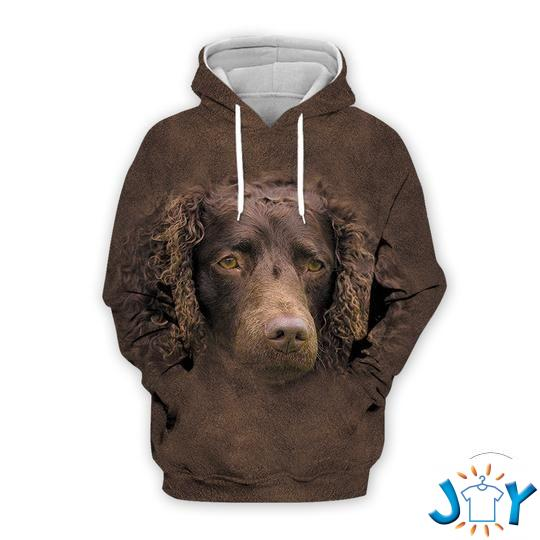 american water spaniel d all over print hoodie