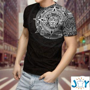 aztec viking d t shirt