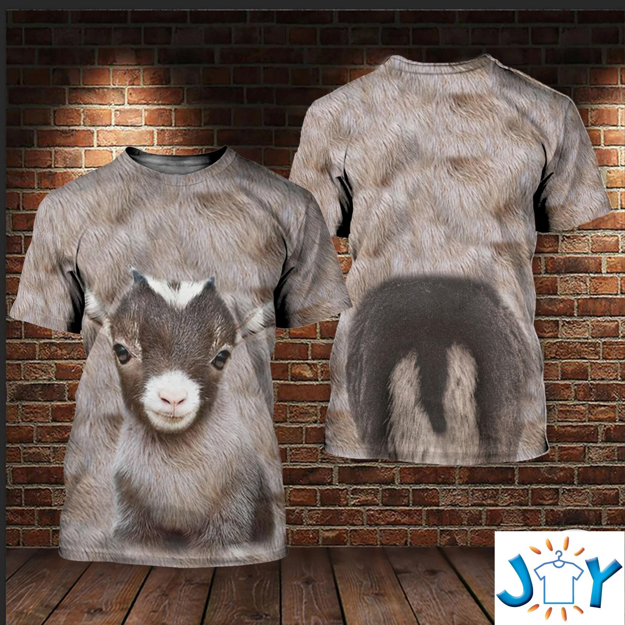 Baby Goat 3D All Over Print Hoodies, Sweatshirt And T-Shirt