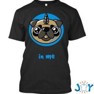 believe in pugcorns t shirt