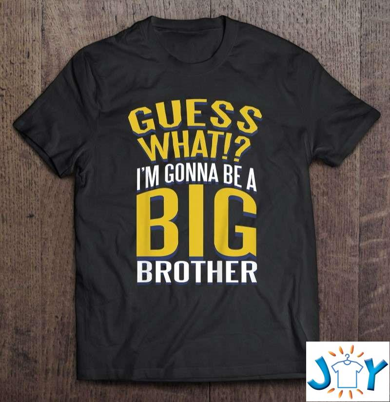 Boys Announcement I'M Gonna Be A Big Brother Shirt