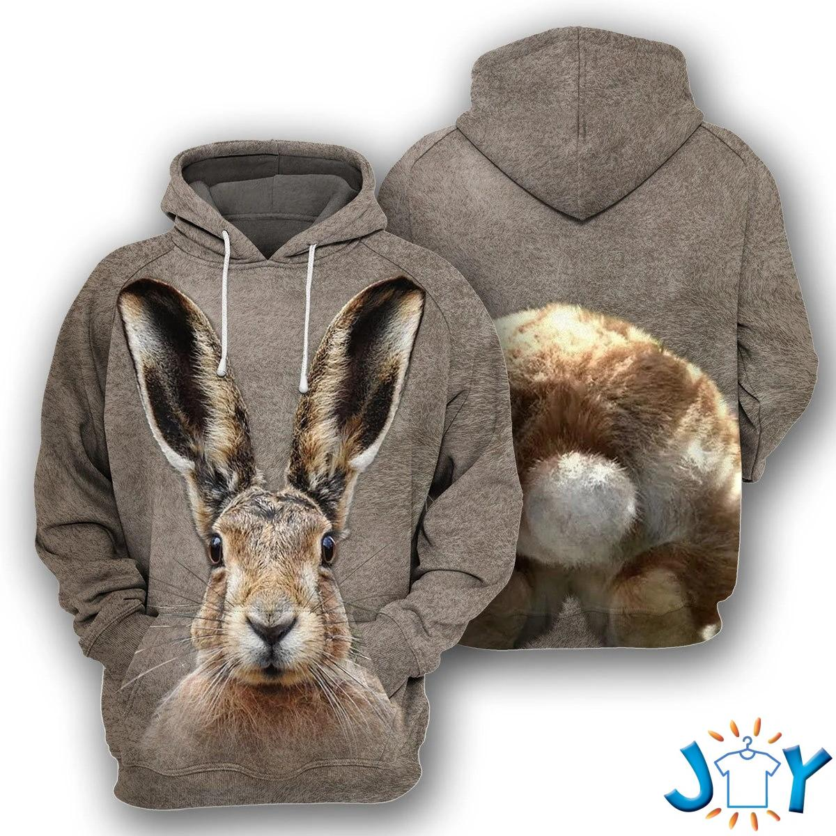 Bunny – 3D All Over Printed Hoodie