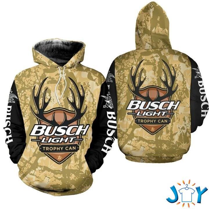Busch Light Trophy Can 3D Hoodie