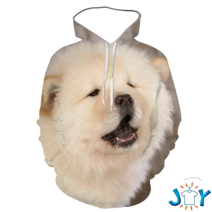 Chow Chow 3D All Over Print Hoodie