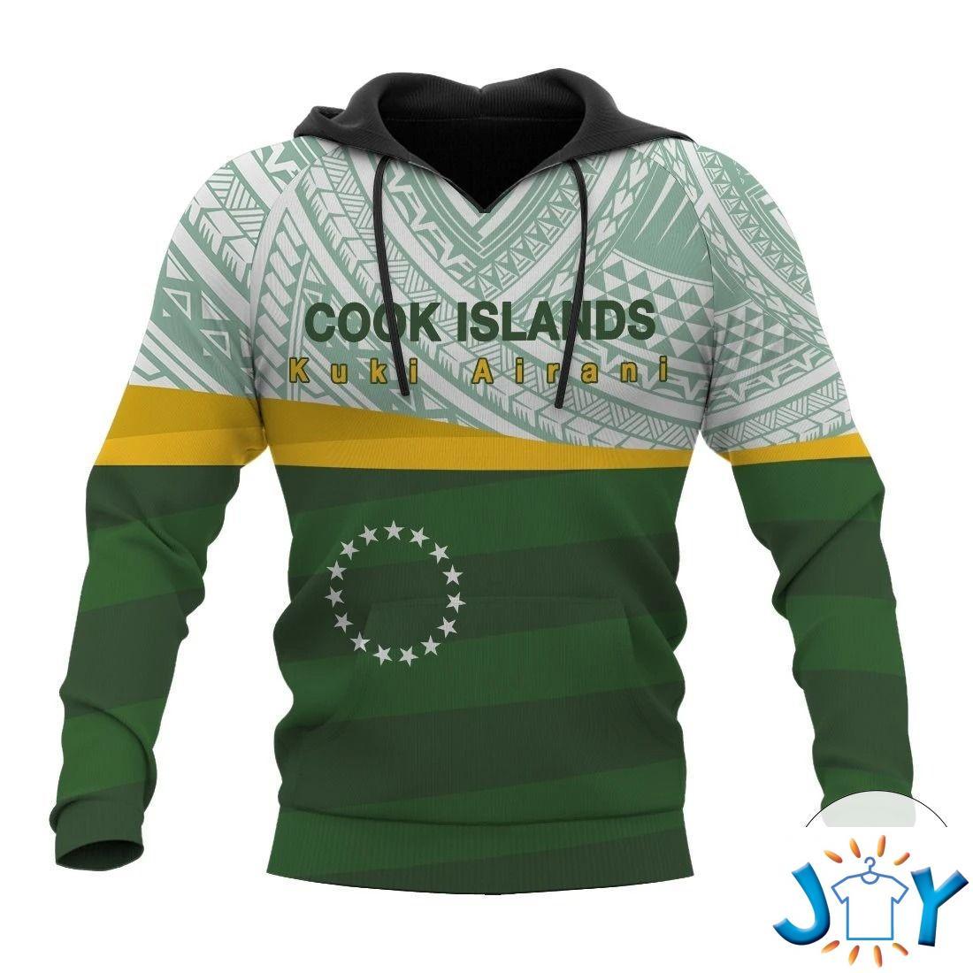 Cook Islands Kuki Airani 3D Hoodie