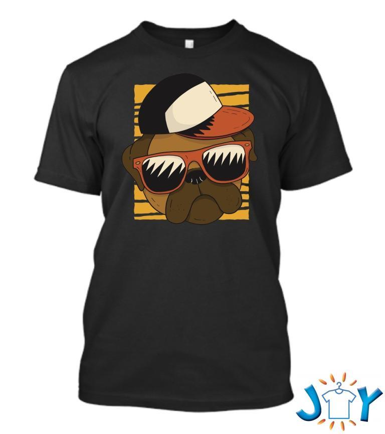 Cool Pug T Shirt