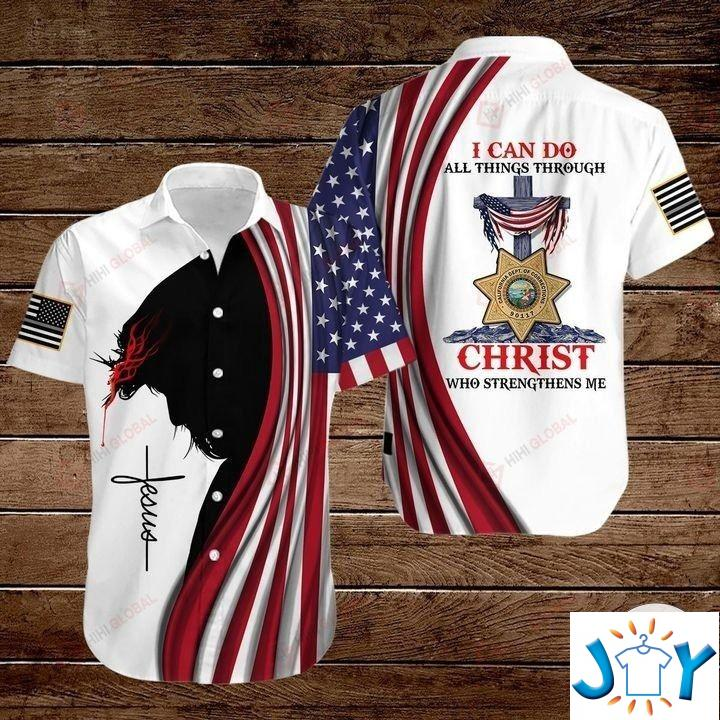 Correctional Officer I Can Do All Things Through Christ Who Strengthens 3D Hoodies, Sweatshirt, Hawaiian Shirt