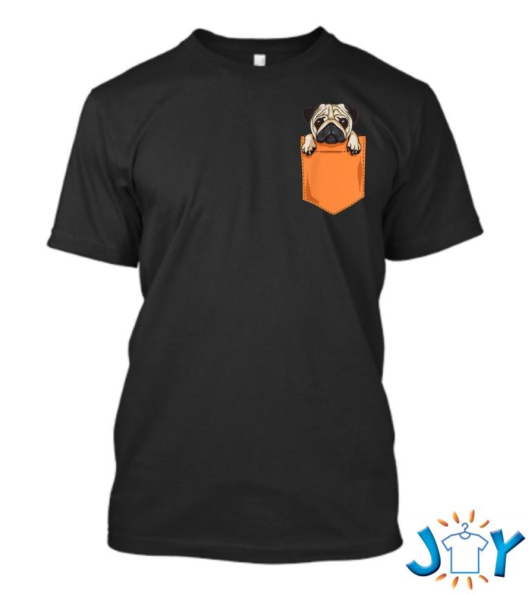 Cute Kawaii Pug Dog In Pocket Dogs Lover Anime 7Q T Shirt