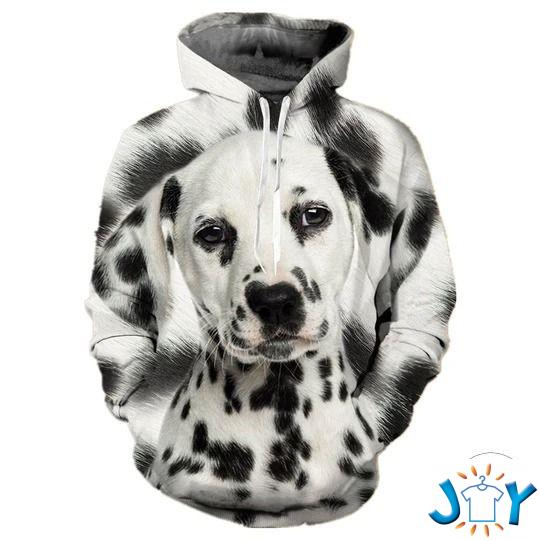 Dalmatian 3D All Over Print Hoodie