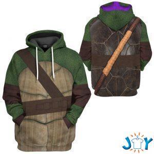 donatello teenage mutant ninja turtles custom d hoodie