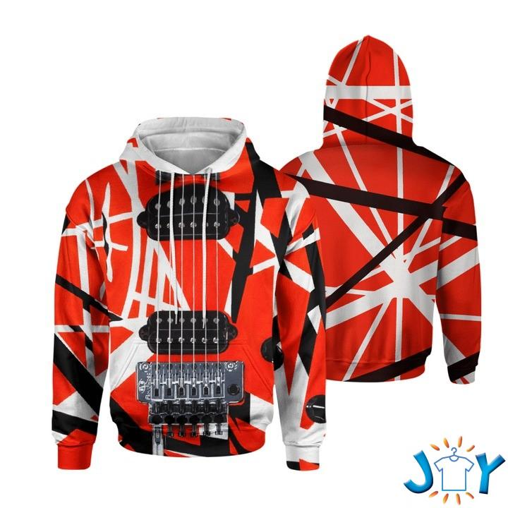 Eddie Van Halen 3D Hoodie