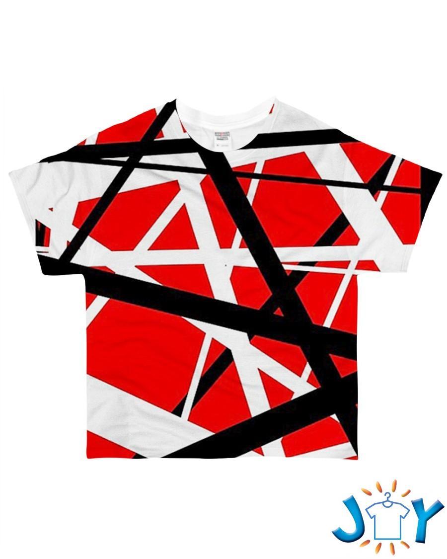 Eddie Van Halen 3D Shirt