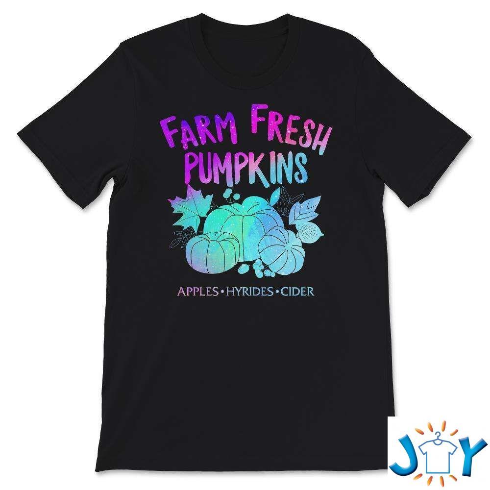 Farm Fresh Cute Pumpkins Pumpkin Fall T-Shirt