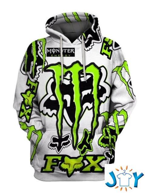 Fox Racing Monster Energy 3D Hoodie