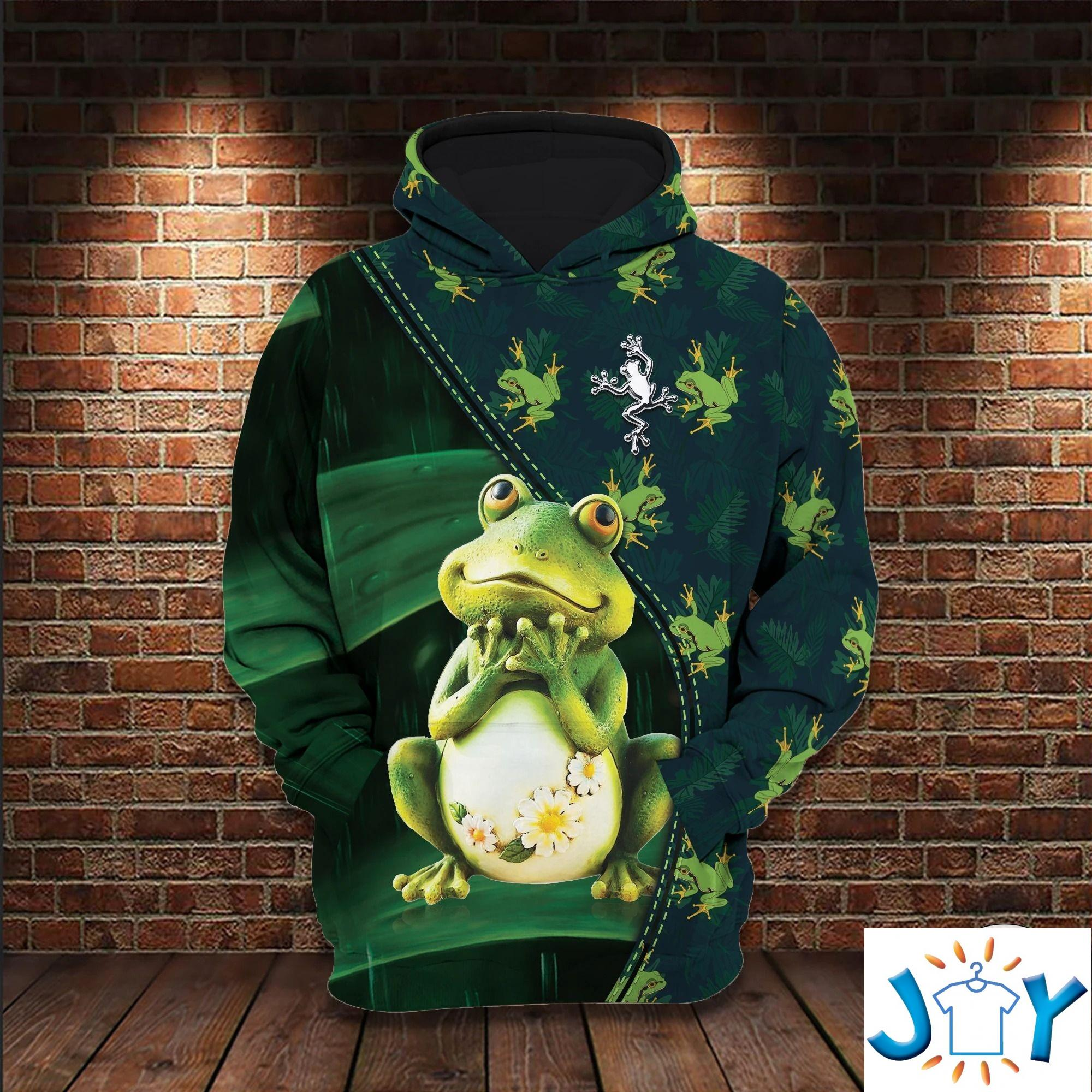 Frog 3D All Over Print Hoodie