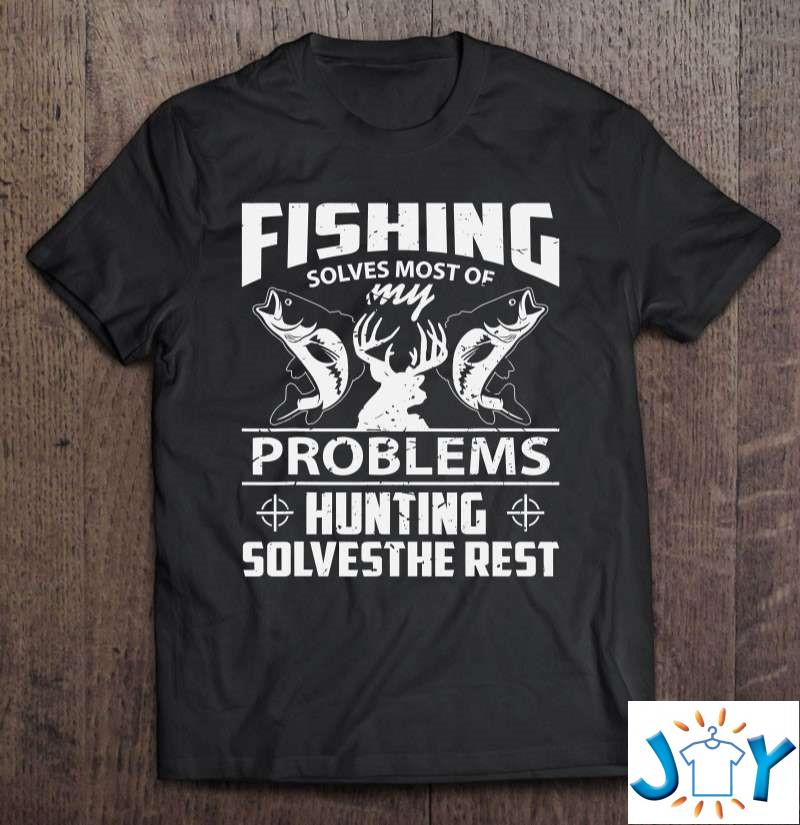 Funny Fishing And Hunting Shirt Hunter T-Shirt