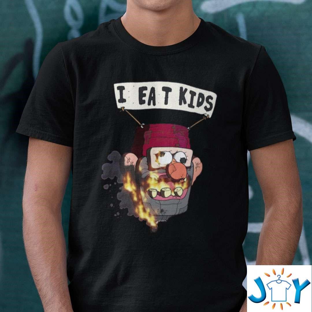 Funny I Eat Kids Shirt Gravity Falls Meme Shirt