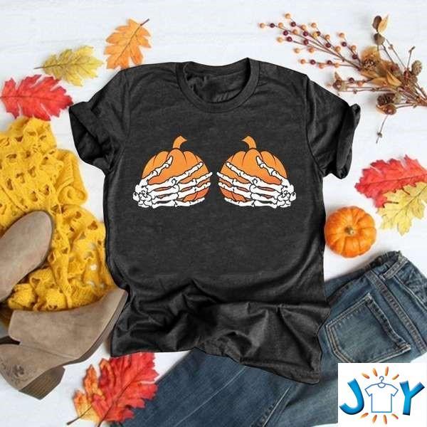 Funny Pumpkin Hallowee Print Graphic Women Unisex T-Shirt