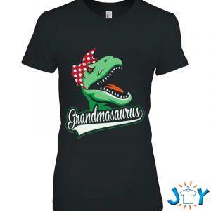 grandmasaurus funny grandmother dinosaur gift from grandkids t shirt M