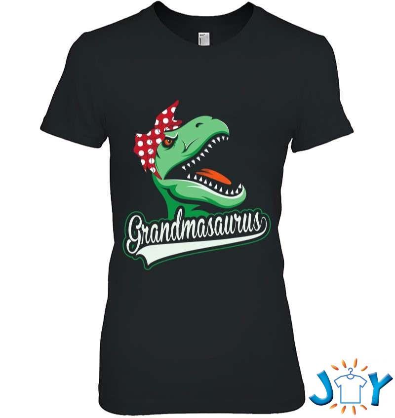 Grandmasaurus Funny Grandmother Dinosaur Gift From Grandkids T-Shirt