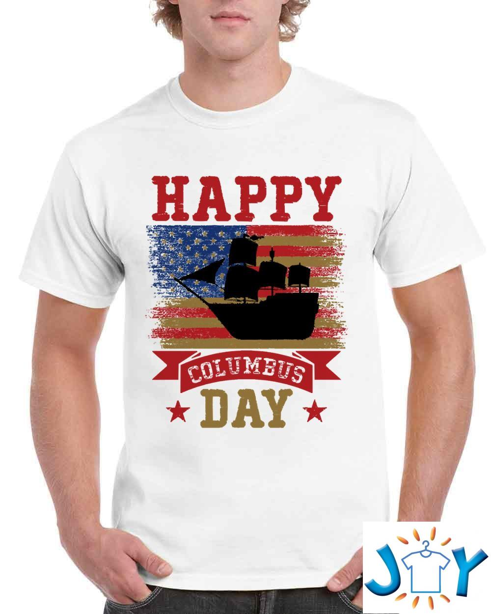 Happy Columbus Day 2021 Gifts Unisex T-Shirt