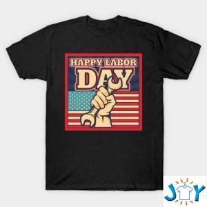 happy labor day unisex t shirt M