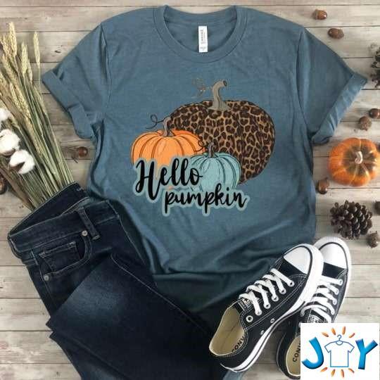 Hello Pumpkin Trendy Fall T-Shirt