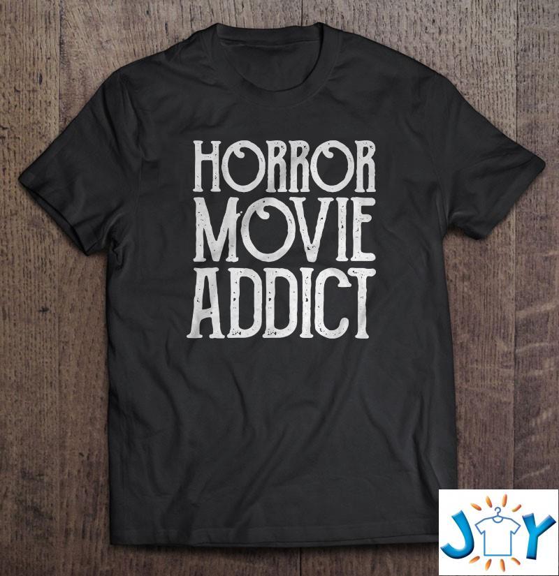 Horror Movie Addict Unisex T-Shirt