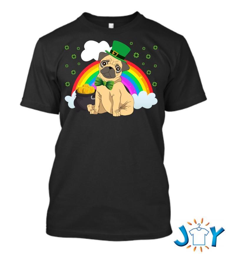 Irish Pug T Shirt