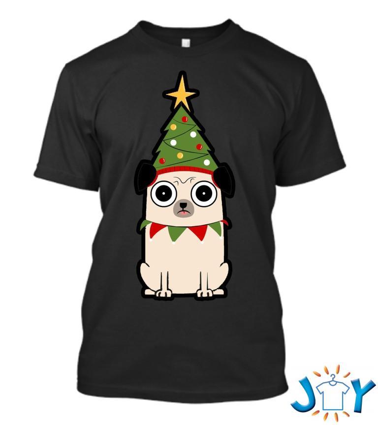 Its Christmas For Pug T Shirt