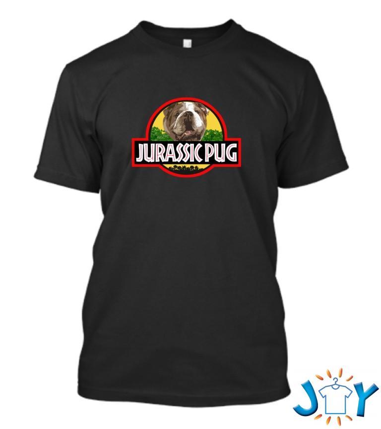 Jurassic Pug T Shirt