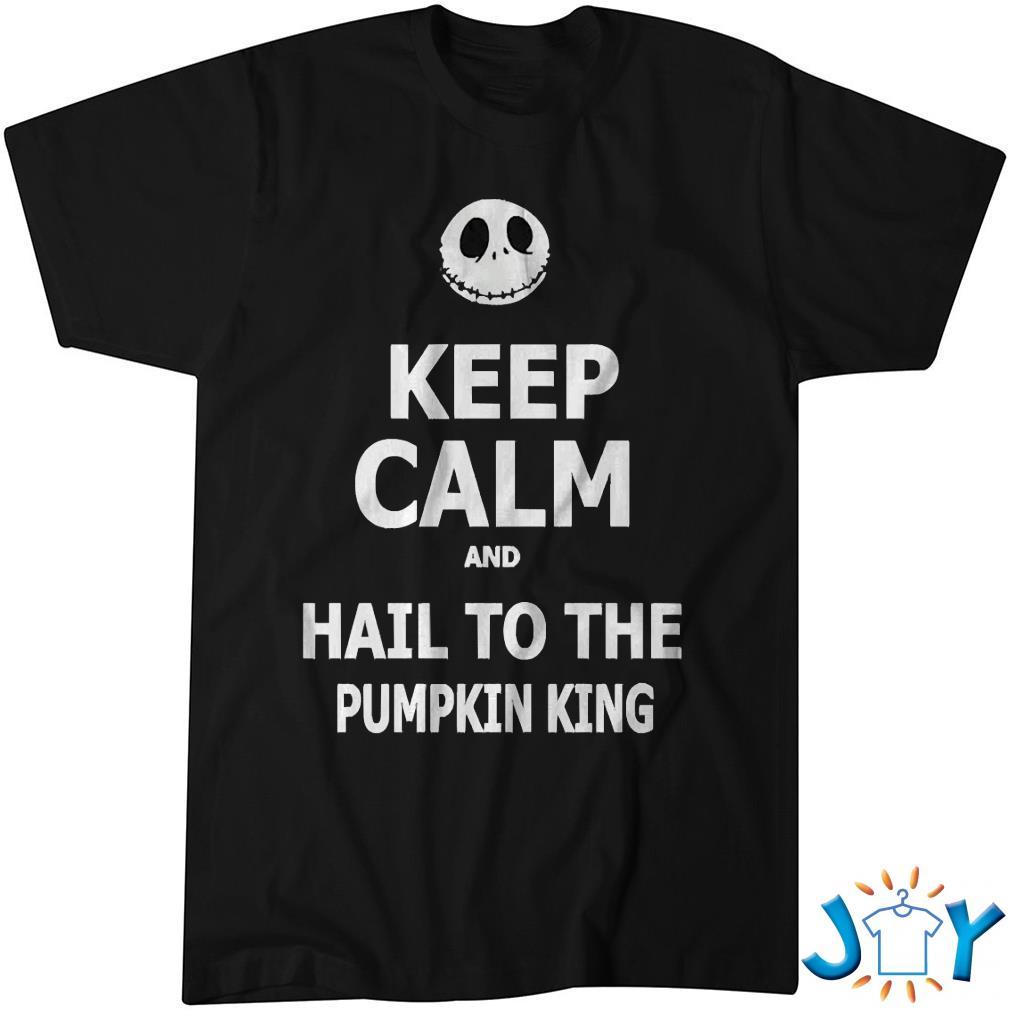 Keep Calm & Hail To The Pumpkin King Essential Shirt