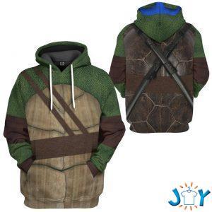 leonardo teenage mutant ninja turtles custom d hoodie