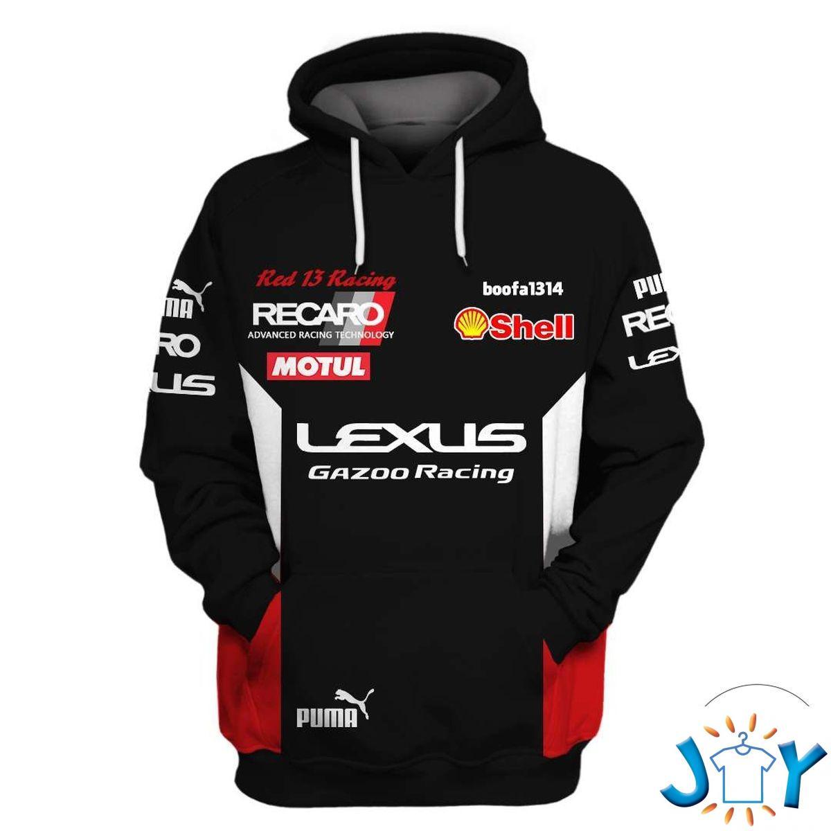 Lexus Gazoo Racing 3D Hoodie