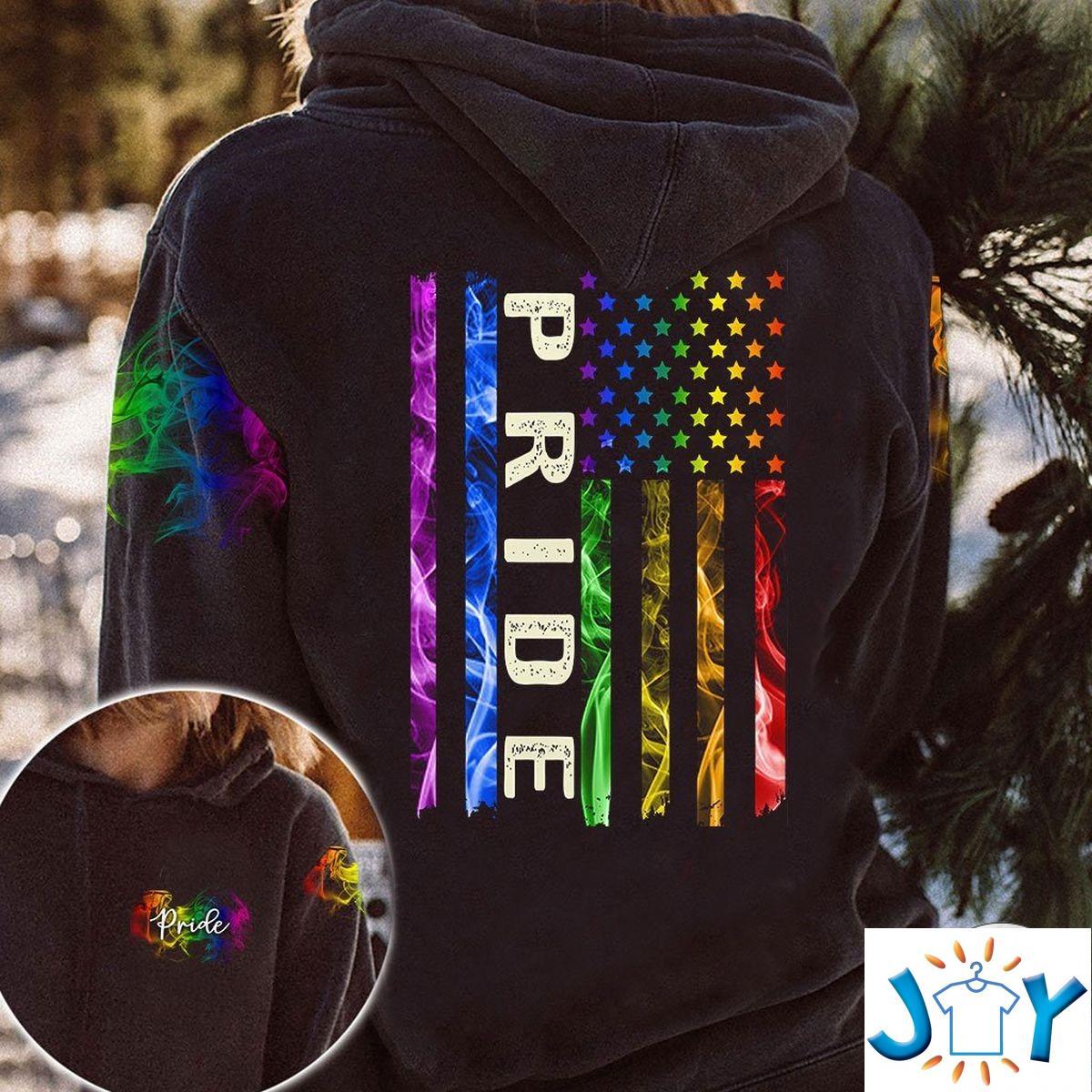 LGBT Pride Smoke 3D Hoodie