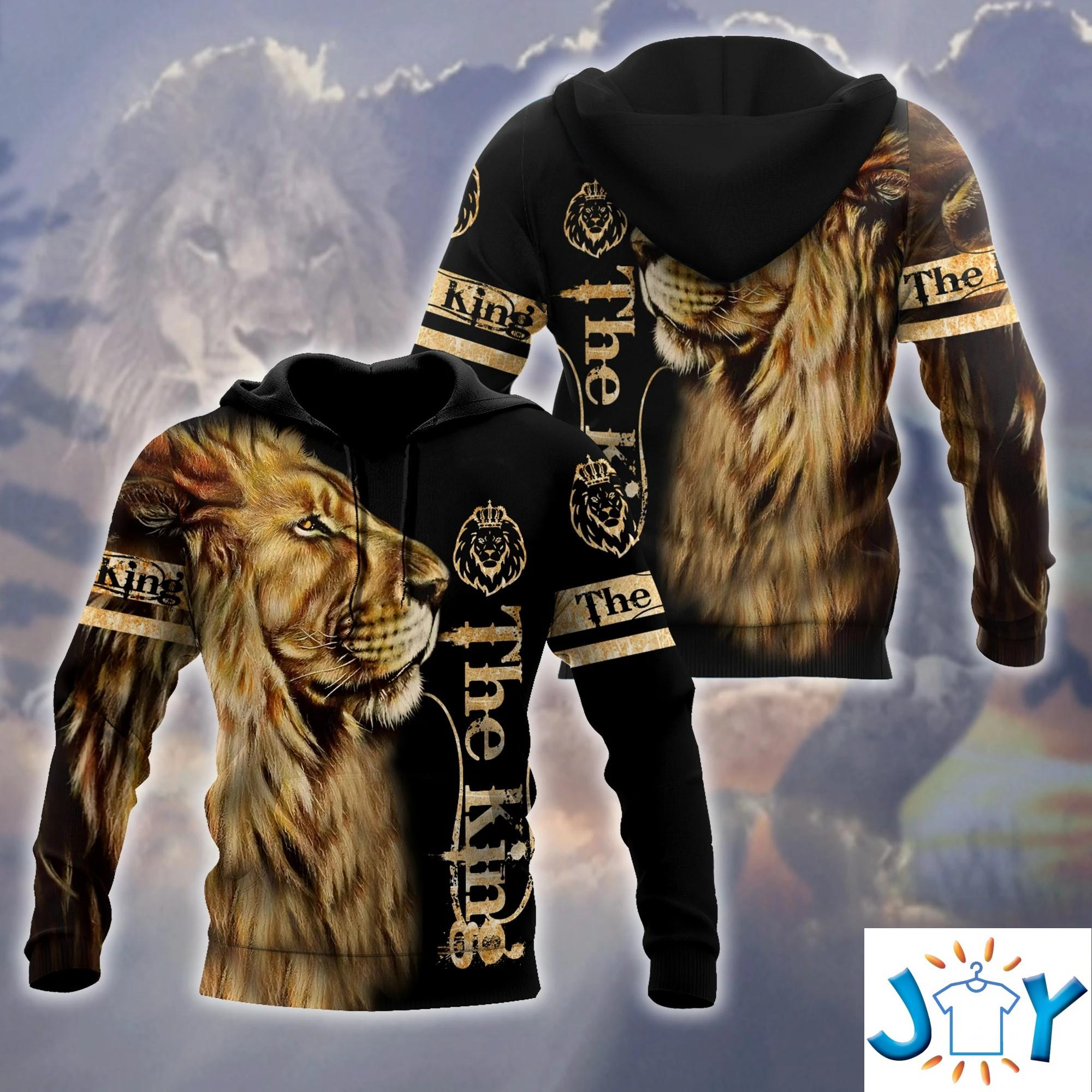 Lion King 3D All Over Printed Hoodie